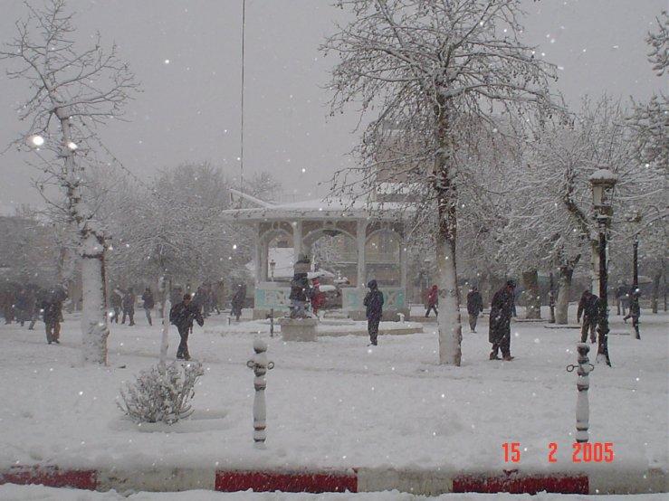 Villes d'Algérie sous la neige NeigeHiver20053